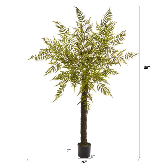 80 Fern Artificial Tree - SKU #9181 - 1