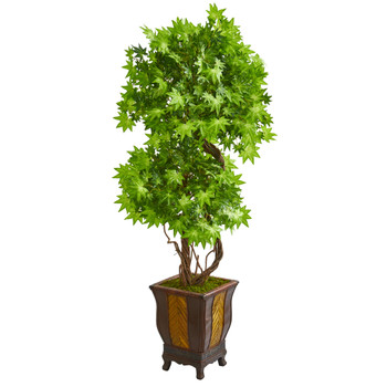 6 Maple Artificial Tree in Decorative Planter - SKU #9283