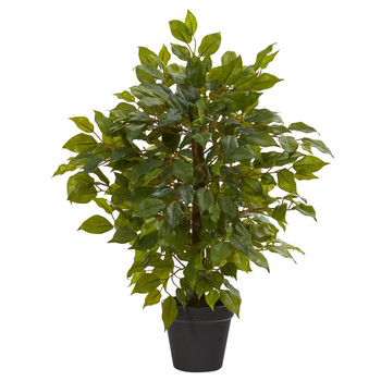 20 Mini Ficus Artificial Tree - SKU #9451