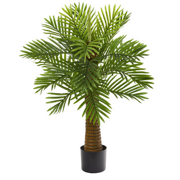 3 Robellini Palm Artificial Tree - SKU #9453