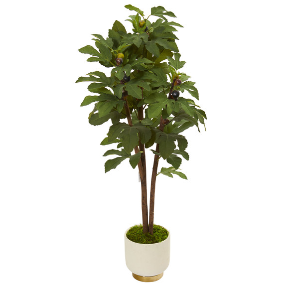 47 Fig Artificial Tree in White Bowl - SKU #9690