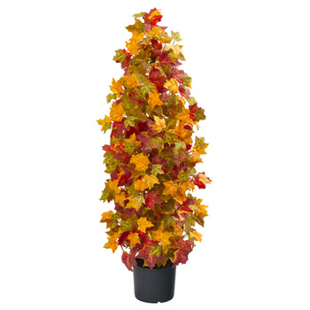 39 Autumn Maple Artificial Tree - SKU #9998