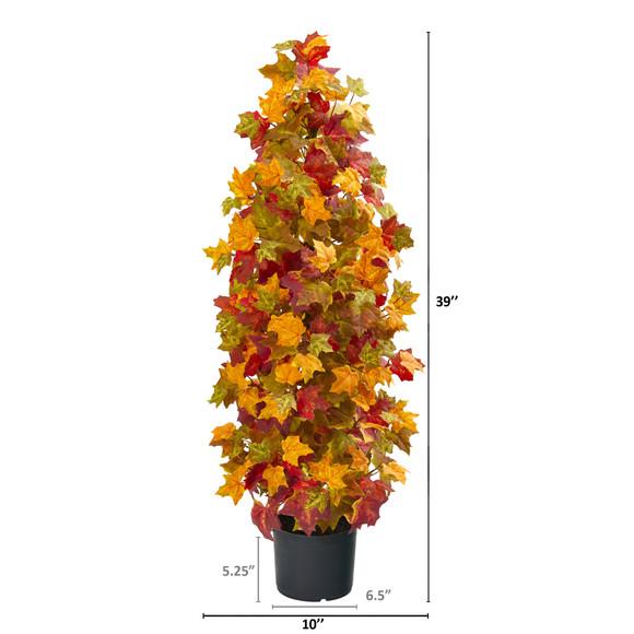 39 Autumn Maple Artificial Tree - SKU #9998 - 1