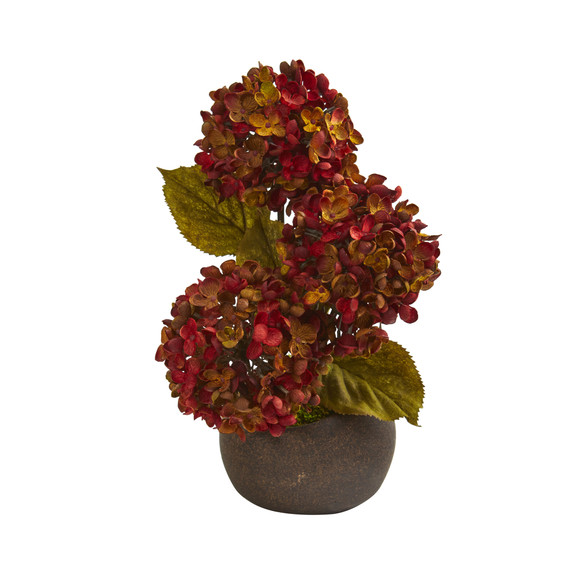 14 Rose and Agave Artificial Arrangement in White Tin Vase - SKU #A1226