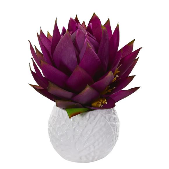 12 Musella Artificial Arrangement in White Vase - SKU #A1290-PP