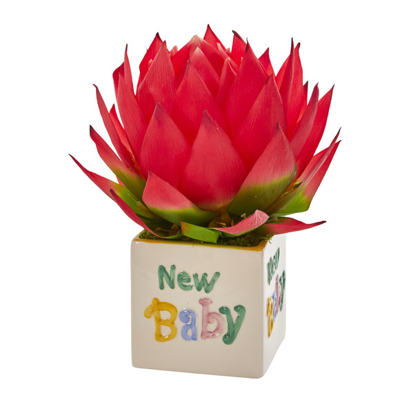 12 Musella Artificial Arrangement in New Baby Vase - SKU #A1299