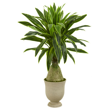59 Dracaena Artificial Plant in Decorative Urn - SKU #P1248