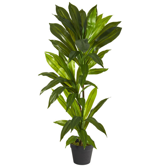 3 Dracaena Artificial Plant Real Touch - SKU #P1302