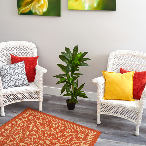 3 Dracaena Artificial Plant Real Touch - SKU #P1302 - 3