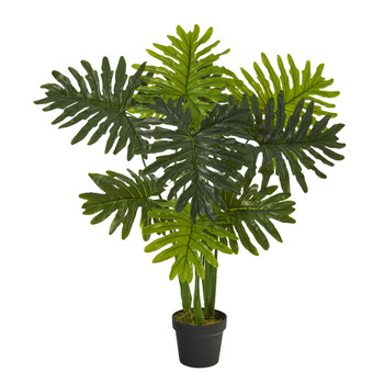 40 Philodendron Artificial Plant Real Touch - SKU #P1307