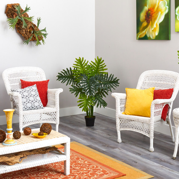 40 Philodendron Artificial Plant Real Touch - SKU #P1307 - 3