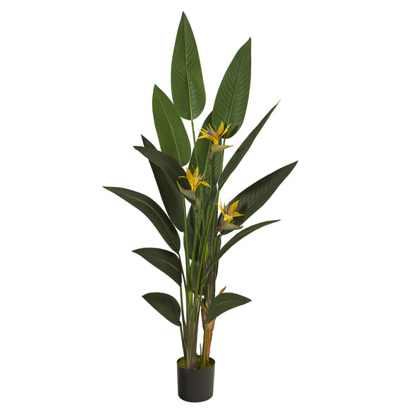 6 Bird of Paradise Artificial Plant - SKU #P1309