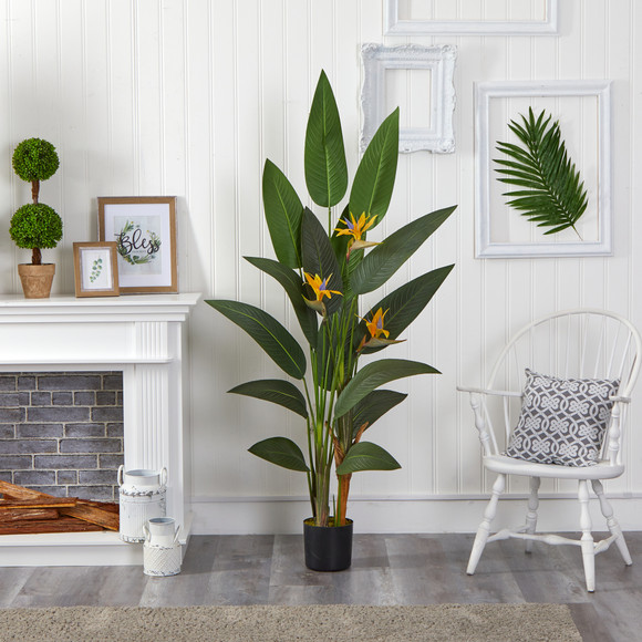 6 Bird of Paradise Artificial Plant - SKU #P1309 - 2