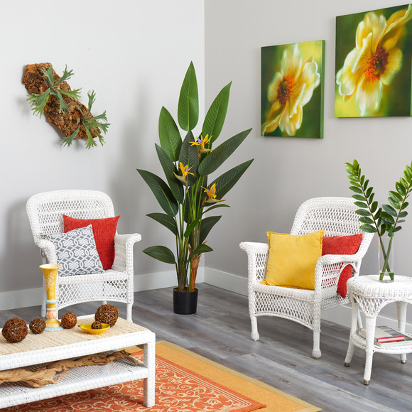 6 Bird of Paradise Artificial Plant - SKU #P1309 - 3