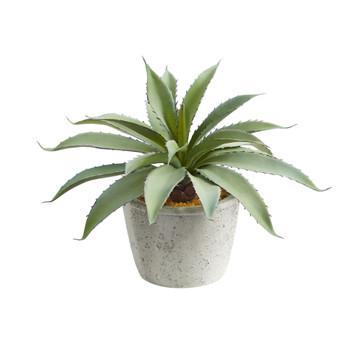 9 Aloe Succulent Artificial Plant - SKU #P1516