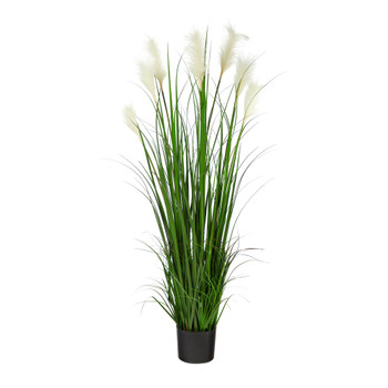 4.5 Plum Grass Artificial Plant - SKU #P1679