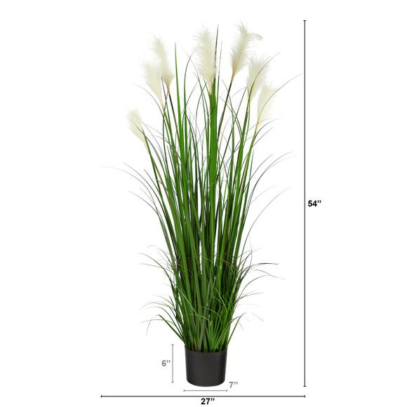 4.5 Plum Grass Artificial Plant - SKU #P1679 - 1