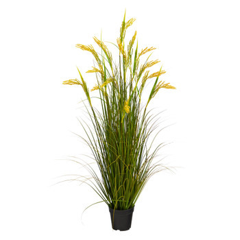 3.5 Wheat Grain Artificial Plant - SKU #P1681