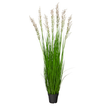 4.5 Plum Grass Artificial Plant - SKU #P1683