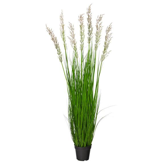 4.5 Plum Grass Artificial Plant - SKU #P1683