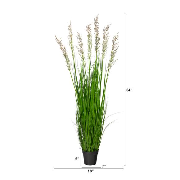 4.5 Plum Grass Artificial Plant - SKU #P1683 - 1
