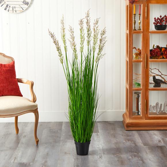 4.5 Plum Grass Artificial Plant - SKU #P1683 - 2