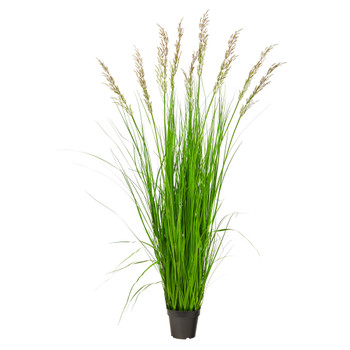 5.5 Plum Grass Artificial Plant - SKU #P1684