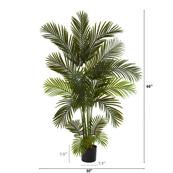 5.5 Areca Palm Artificial Tree - SKU #T1004 - 1