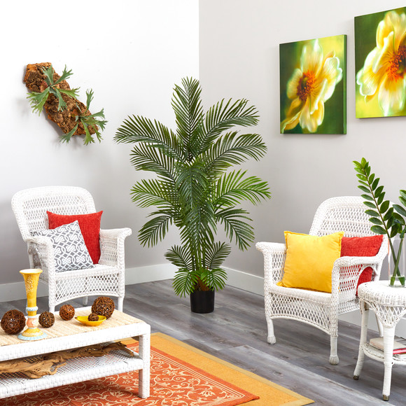 5.5 Areca Palm Artificial Tree - SKU #T1004 - 3