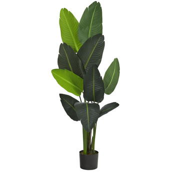 58 Travelers Palm Artificial tree - SKU #T1007
