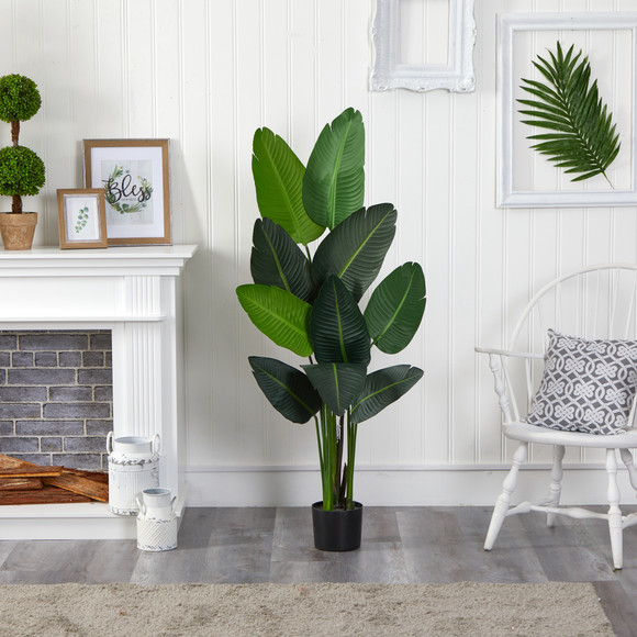 58 Travelers Palm Artificial tree - SKU #T1007 - 2