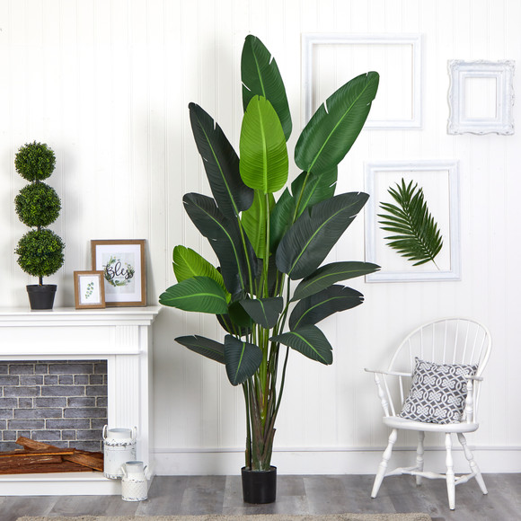 8 Travelers Palm Artificial tree - SKU #T1009 - 2