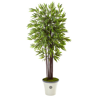 5.5 Bamboo Artificial Tree in Decorative Planter - SKU #T1059