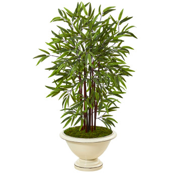 47 Bamboo Artificial Tree in Decorative Urn - SKU #T1075