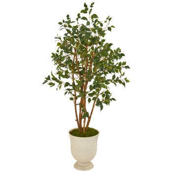 56 Ficus Artificial Tree in Decorative Urn - SKU #T1107