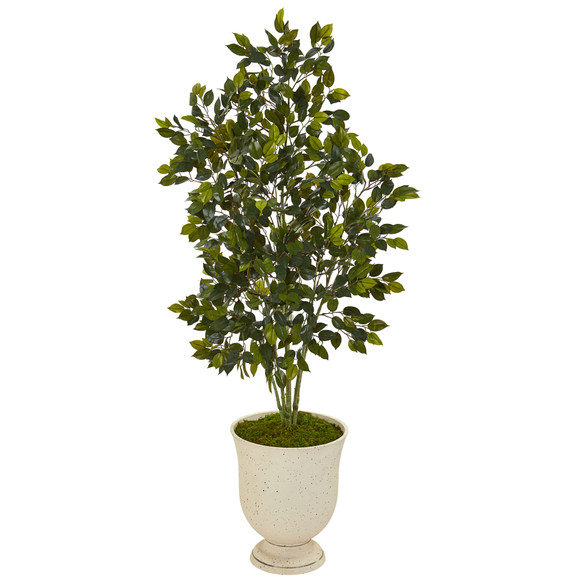 58 Ficus Artificial Tree in Decorative Urn - SKU #T1114
