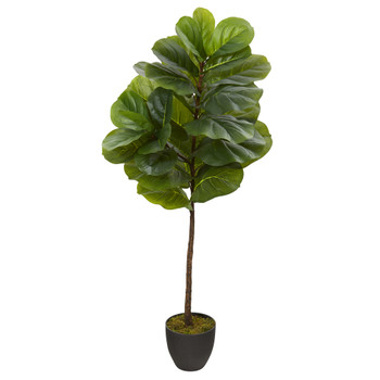 46 Fiddle Leaf Artificial Tree Real Touch - SKU #T1200