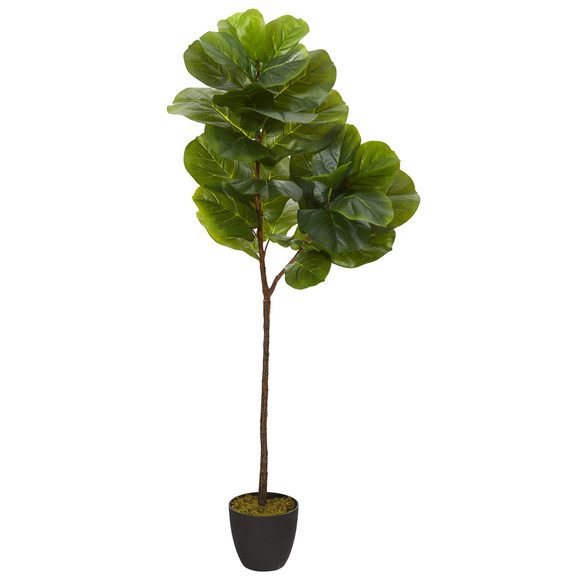 59 Fiddle Leaf Artificial Tree Real Touch - SKU #T1201