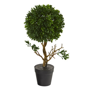15 Boxwood Topiary Artificial Tree UV Resistant Indoor/Outdoor - SKU #T1203