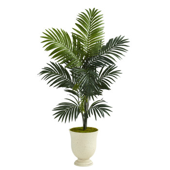 65 Kentia Artificial Palm Tree in Decorative Urn - SKU #T1224