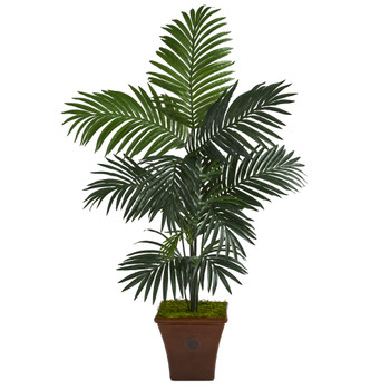 5 Kentia Artificial Palm Tree in Brown Planter - SKU #T1226