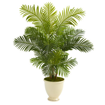 5.5 Hawaii Palm Artificial Tree in Decorative Urn - SKU #T1264