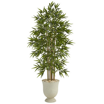 68 Bamboo Artificial Tree in Decorative Urn - SKU #T1303