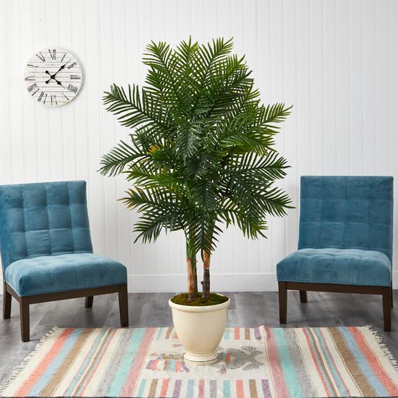 5.5 Areca Palm Artificial Tree in Decorative Urn - SKU #T1367 - 2