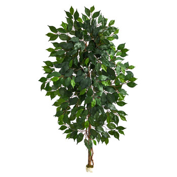 4 Single Ficus Artificial Tree No Pot - SKU #T1413