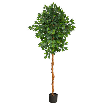 6 Ficus Artificial Tree - SKU #T1441