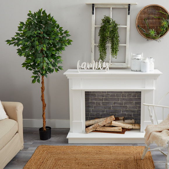 6 Ficus Artificial Tree - SKU #T1441 - 3