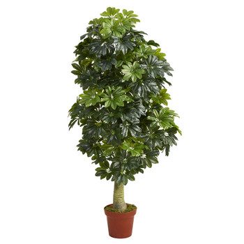 5 Schefflera Artificial Tree Real Touch - SKU #T1520