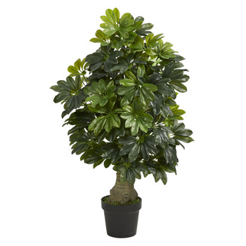 3 Schefflera Artificial Tree Real Touch - SKU #T1521