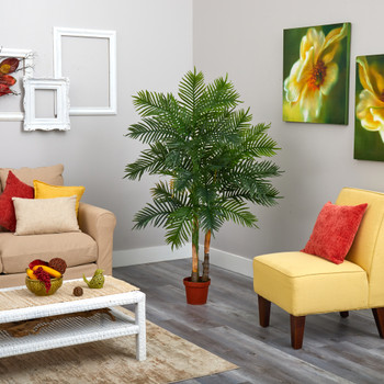 5 Areca Palm Artificial Tree Real Touch - SKU #T1523
